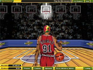free Dennis Rodman slot bonus game