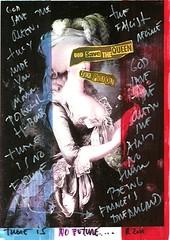 Marie Antoinette + Sex Pistols 3 (POP SYMBOLISM) Tags: france art collage illustration punk mixedmedia surrealism popart punkrock sexpistols marieantoinette frenchflag godsavethequeenlyrics