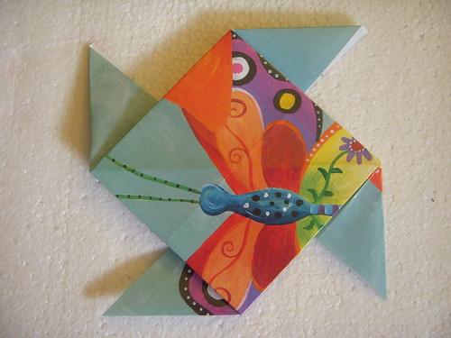 Origami #27: Pinwheel