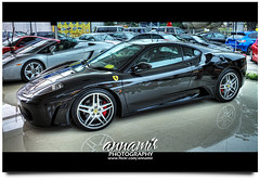 Just A Ferrari (HDR) (AnNamir c[_]) Tags: reflection canon kitlens ferrari 7d handheld soe supercar hdr ampang photomatix tonemapping naza annamir flickrtravelaward mahmudtaib