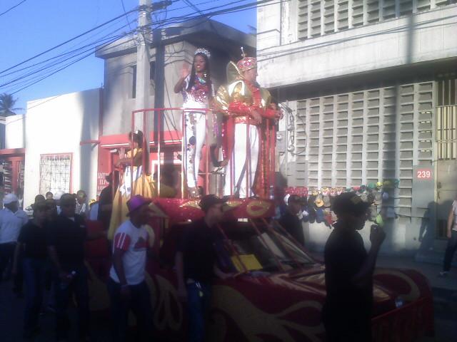 La Reina y El Rey del Carnaval Vegano 2011