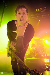Tom DeLonge of Angels and Airwaves (mdj | Bartosz Madejski) Tags: music concert glasgow live gig mdj tomdelonge angelsandairwaves wwwbartphotocouk o2abc