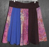 I love Twirling  - Upcycled Girls 6 Skirt