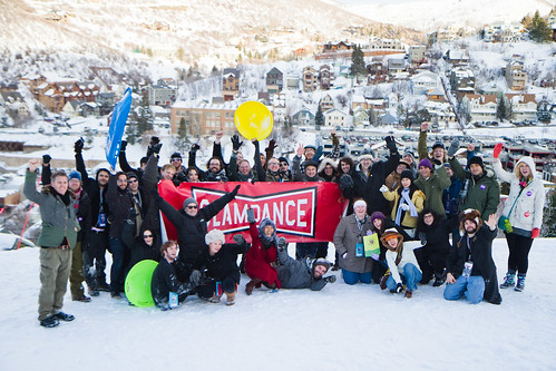 Slamdance Sled-off 2011!!!