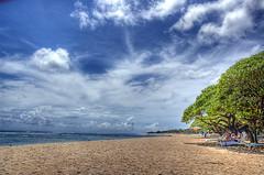 Nusa Dua Beach, Bali (Tempo Dulu) Tags: bali beach clouds indonesia bluesky hdr pantai nusadua beautifulbali