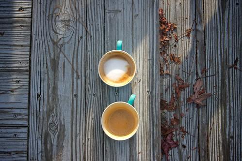 coffee break with neighbor