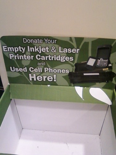 Cell Phone/Printer Recycling