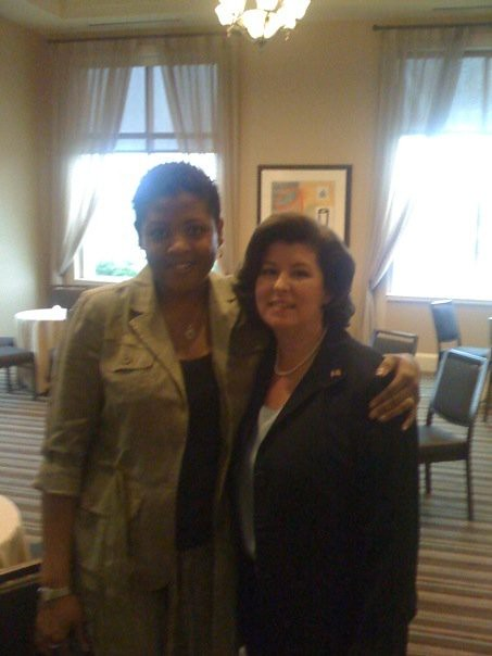 Chiteka and KAREN HANDEL