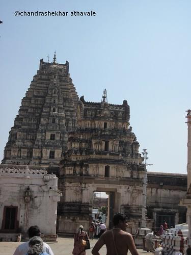 Twin towers of virupaksh mandir