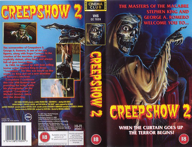Creepshow 2 (VHS Box Art)