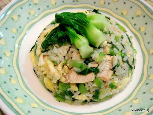 20110204 初二晚餐-菜飯
