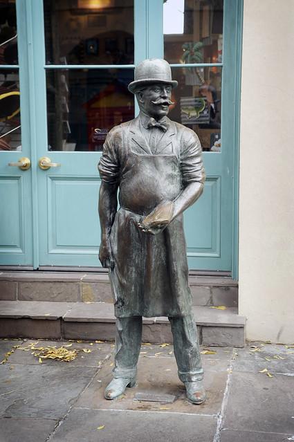 Butcher Statue