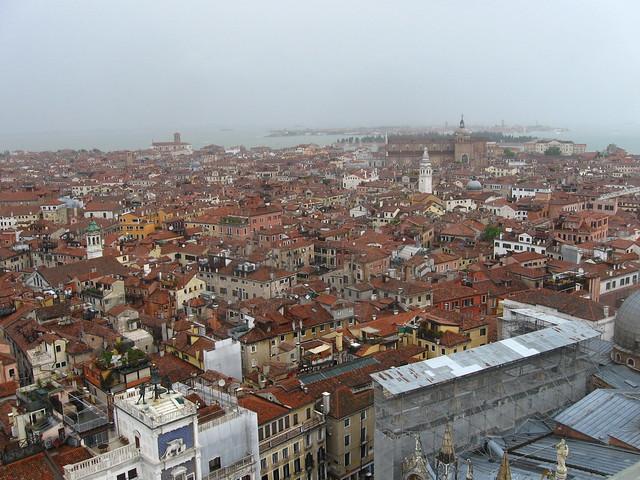 ヴェネツィアの建物のフリー写真素材