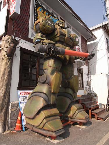 ザク風大型ロボット@天理市-02
