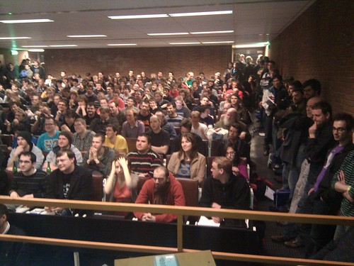 Audience in our HTML5 talk