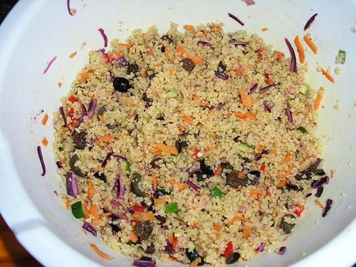 Couscous salad 1