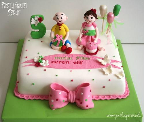CAİLLOU CAKE - CEREN ELİF 5ST BIRTHDAY