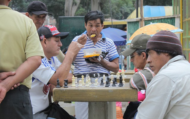 In Peru, chess is a very popular sport.