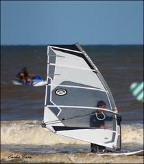 (Carlos Casa) Tags: sea argentina sport canon lens mar focus 300mm villa deporte manual vela 3s russian olas ola oceano xsi windsurf tair foco gesell jetsky enfoque 450d 45300 motosky