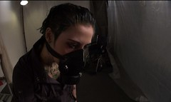 Bedside Manner (noirgirls) Tags: fetish video noir heroine horror gasmask distress peril damsel ryona tobatsu