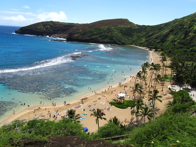 Hawaii, Oahu, Hanauma Bay, beaches