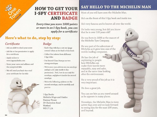 I-Spy Michelin