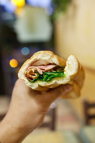 Subway Bammy Vietnamese Sandwich