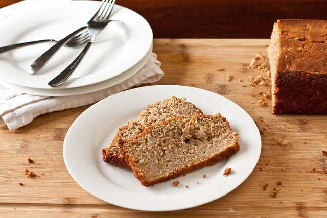 Fresh Pear-Ginger Quick Bread