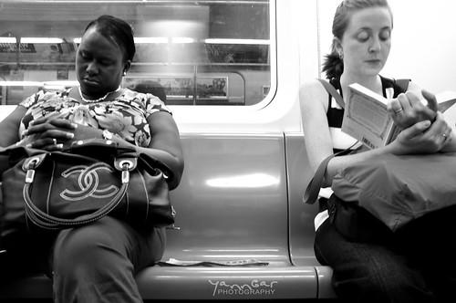 B&W Subway NY