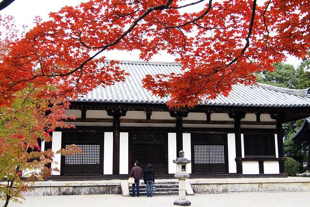 20101114_104234_秋篠寺_本堂(国宝)