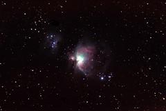 M42 - Orion nebula (super_botte) Tags: sky stars galaxy nebula astrophotography cielo orion astrofotografia m42 di astronomy astronomia nebulosa stelle orione galassia Astrometrydotnet:status=solved Astrometrydotnet:version=14400 Astrometrydotnet:id=alpha20110241412781