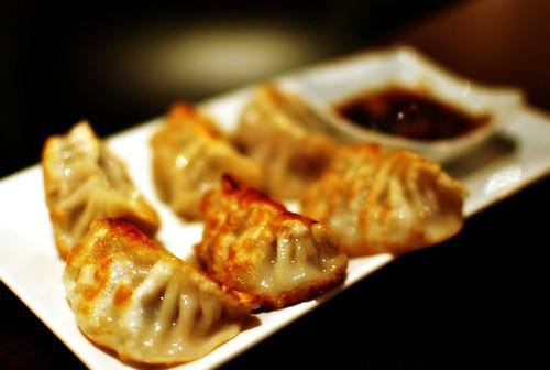beef & pork dumplings @ Mandu, DC
