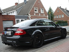 CLK 63 AMG Black Series (Niklas Emmerich Photography) Tags: black car germany mercedes benz 63 series v8 amg clk 2011 stadtlohn worldcars