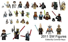 2011 SW figures (Commdr_Neyo ☮) Tags: