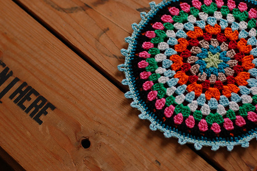 Rose Potholder | Free Crochet Patterns