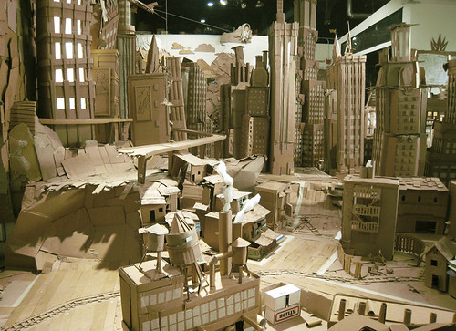 Cardburg (Photo courtesy of the Cardboard Institute of Technology)