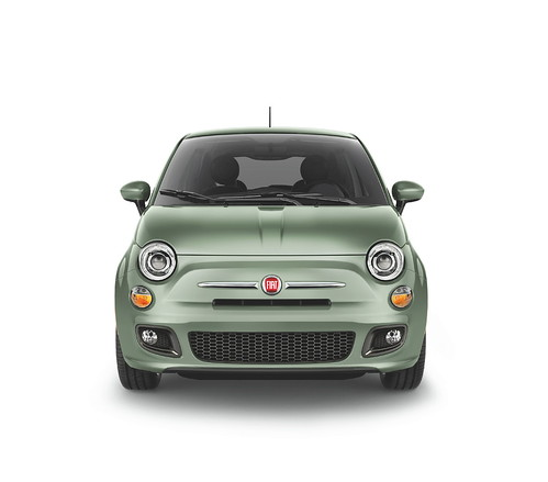 New 2012 Fiat 500 in Verde Chiaro