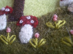 Champignons (Les photos de Vero) Tags: laine feutre