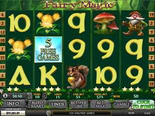 free Fairy Magic slot collective bonus