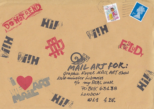 Mailart Martha Envelope