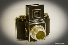 Agiflex (Leifskandsen) Tags: camera old england canon collection leif bygones agiflex