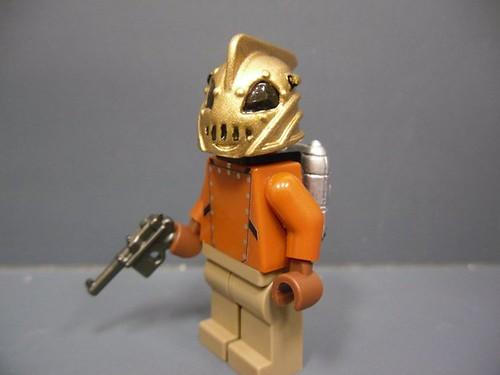 Custom minifig Rocketeer custom lego minifigure