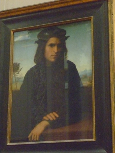 Joaquin in the Louvre?