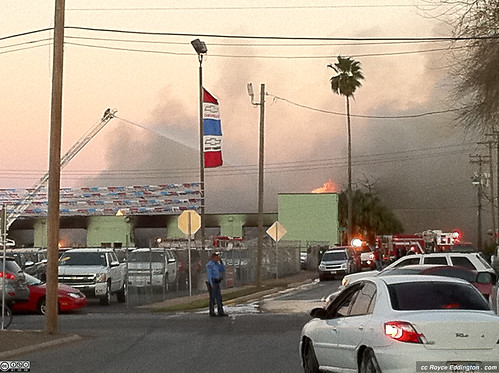 McAllen Medical Warehouse Fire Jan 2011 B