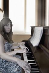 The Pianist (RipeFoto) Tags: selfportrait piano pianist conceptualphotography ripefoto ripephotography manyhanded