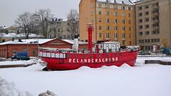 Vintage Ship - Helsinki, Finland (roshgaind) Tags: winter sea dock helsinki