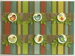 Little Birdies (sunnysideupcreations) Tags: birthday art paper handmade etsy stationery greetingcards threedimensional papergoods