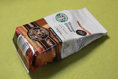 コーヒー豆「スターバックス ハウスブレンド」