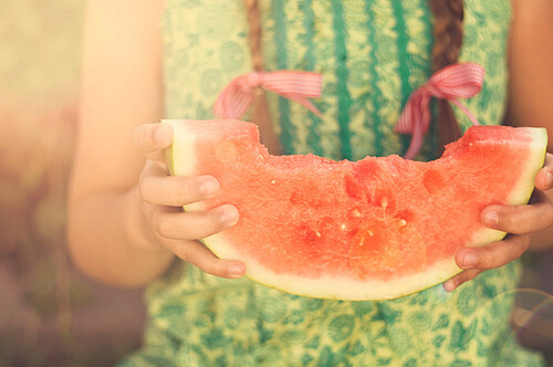 Watermelon, summer, fruit
