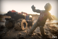 Life's a Beach (Lil' Buddy Pix) Tags: toy photography cobra joe figures gi